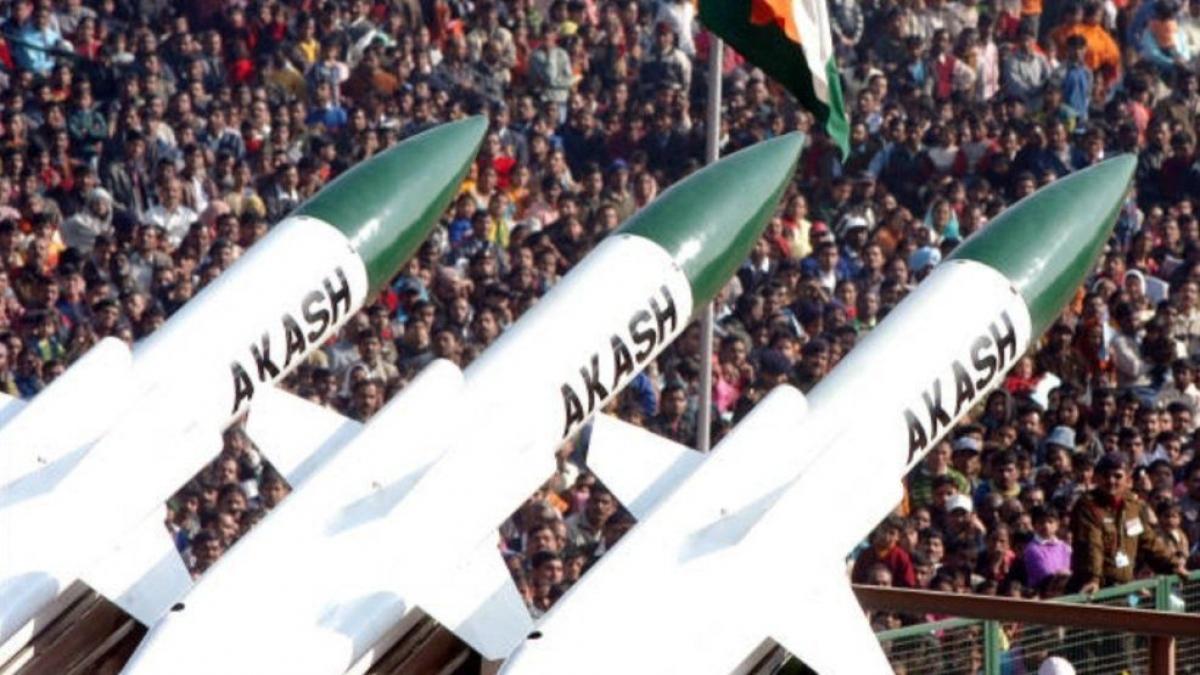 Hệ thống phòng không Akash. Ảnh: Voice India