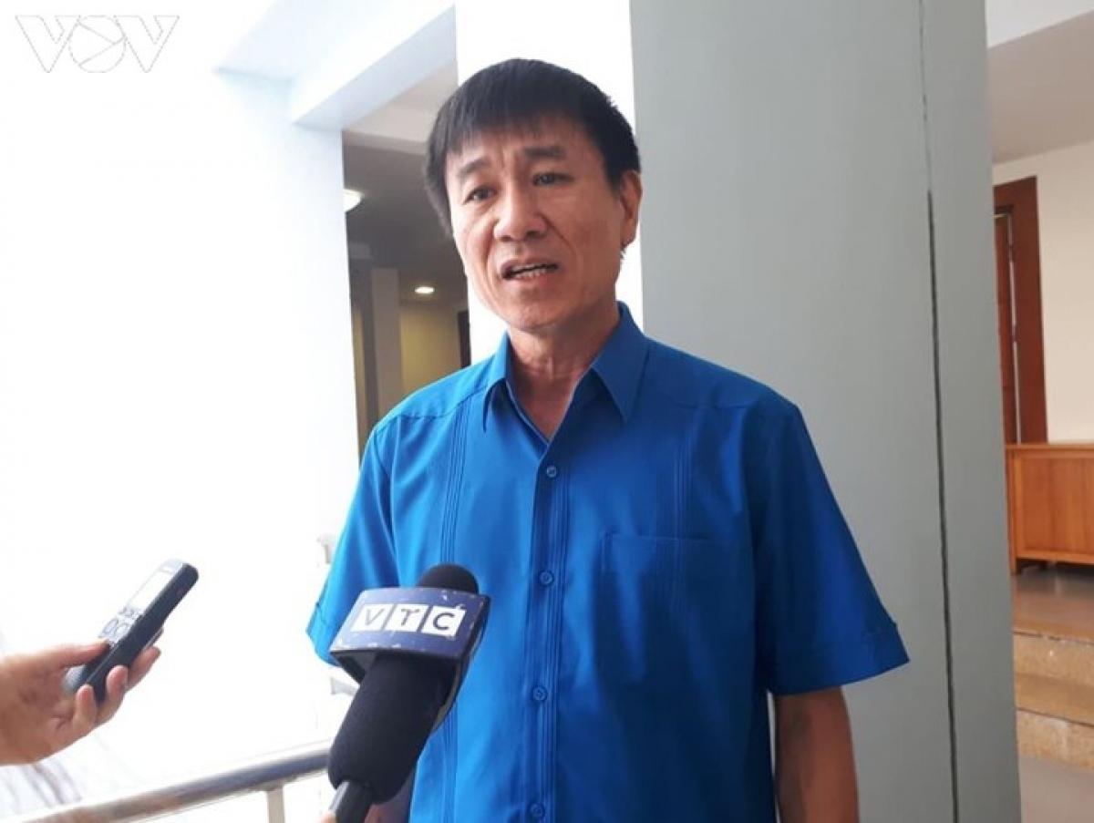 Ông Lê Đình Quảng, Phó trưởng ban Quan hệ lao động, Tổng Liên đoàn lao động Việt Nam.