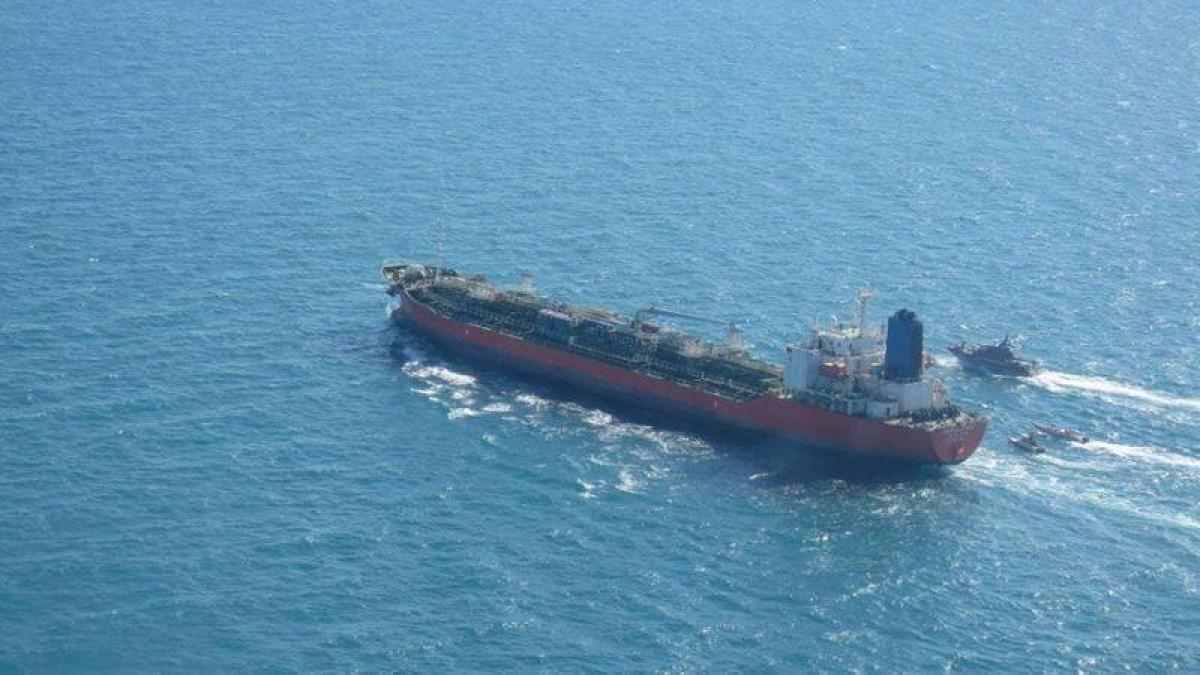 Tàu Hankuk Chemi. Nguồn: Reuters.