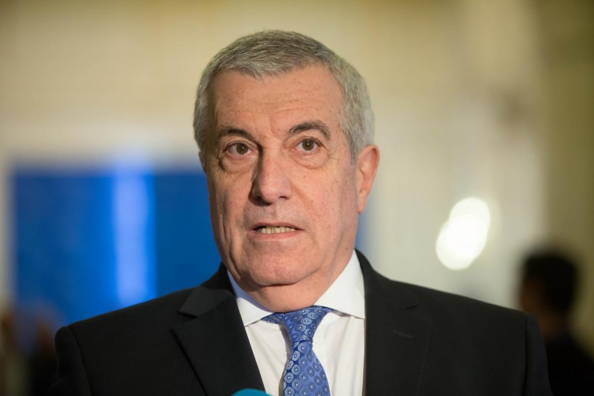 Cựu Thủ tướng Romania Calin Popescu Tariceanu.