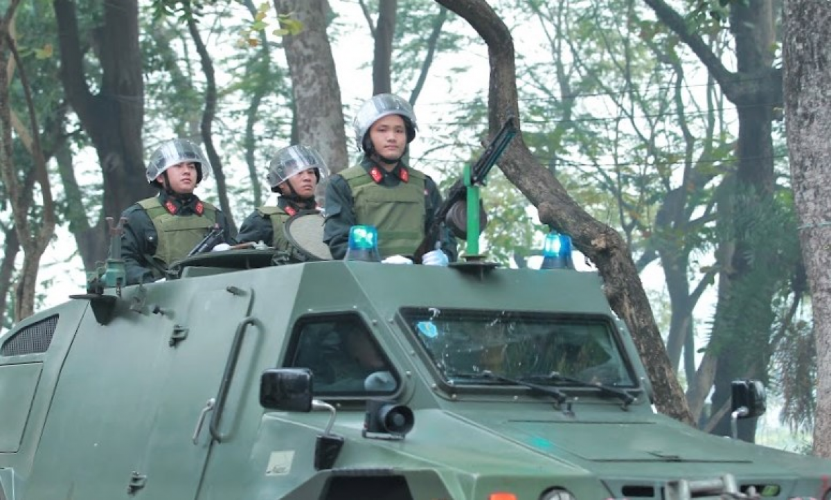 Colonel Nguyen Thanh Tung, deputy head of the Hanoi Police Department, says plans are in place at the highest level to ensure security and safety during the duration of the congress. (Photo: VOV.VN)