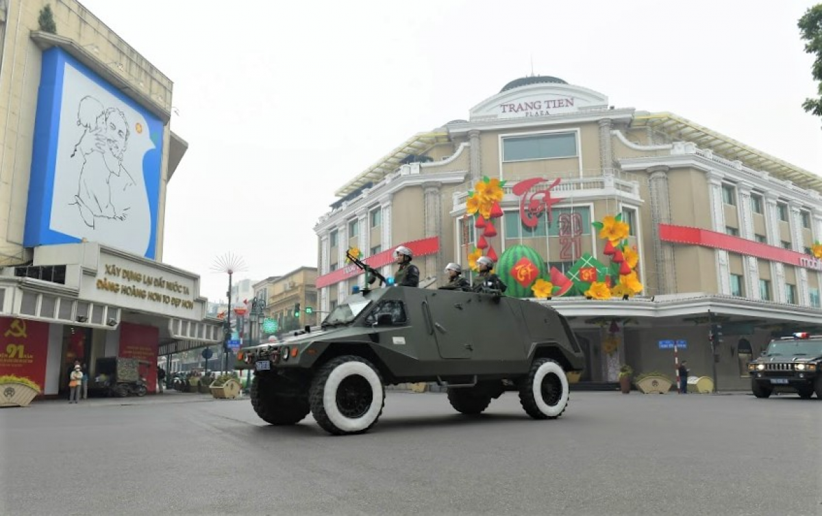 Colonel Tung confirms that public security forces are fully committed to carrying out their tasks. (Photo: VOV.VN)