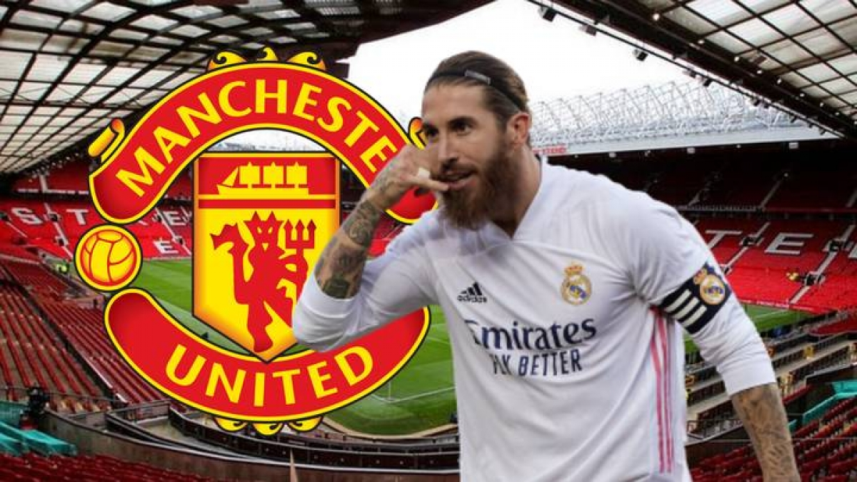 Sergio Ramos sẽ cập bến MU ở kỳ chuyển nhượng hè này? (Ảnh: Mirror)