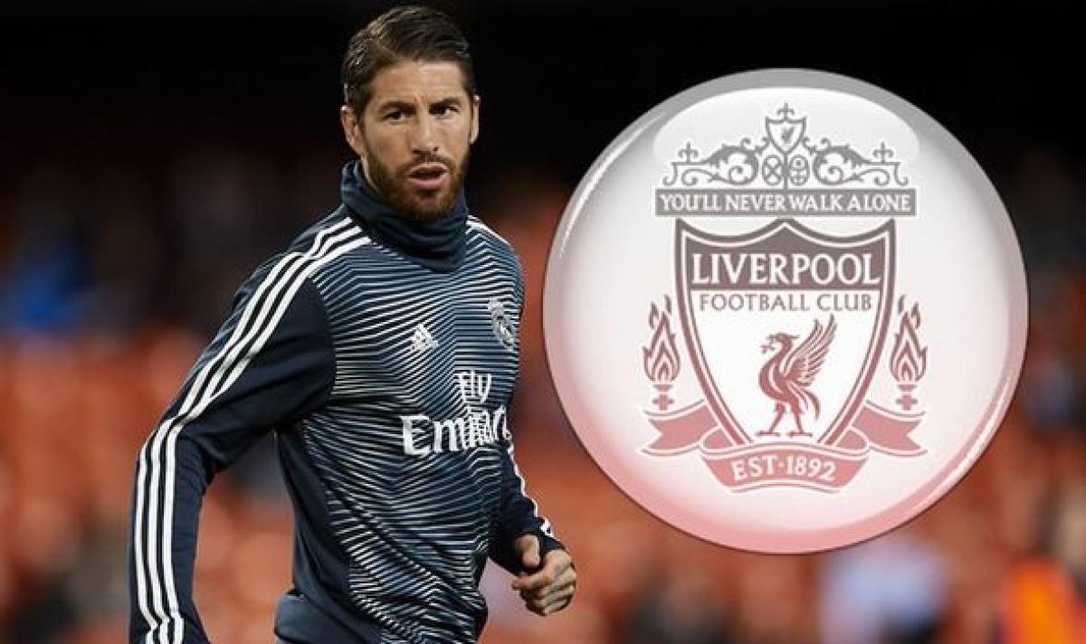 Liverpool đang theo đuổi Sergio Ramos.