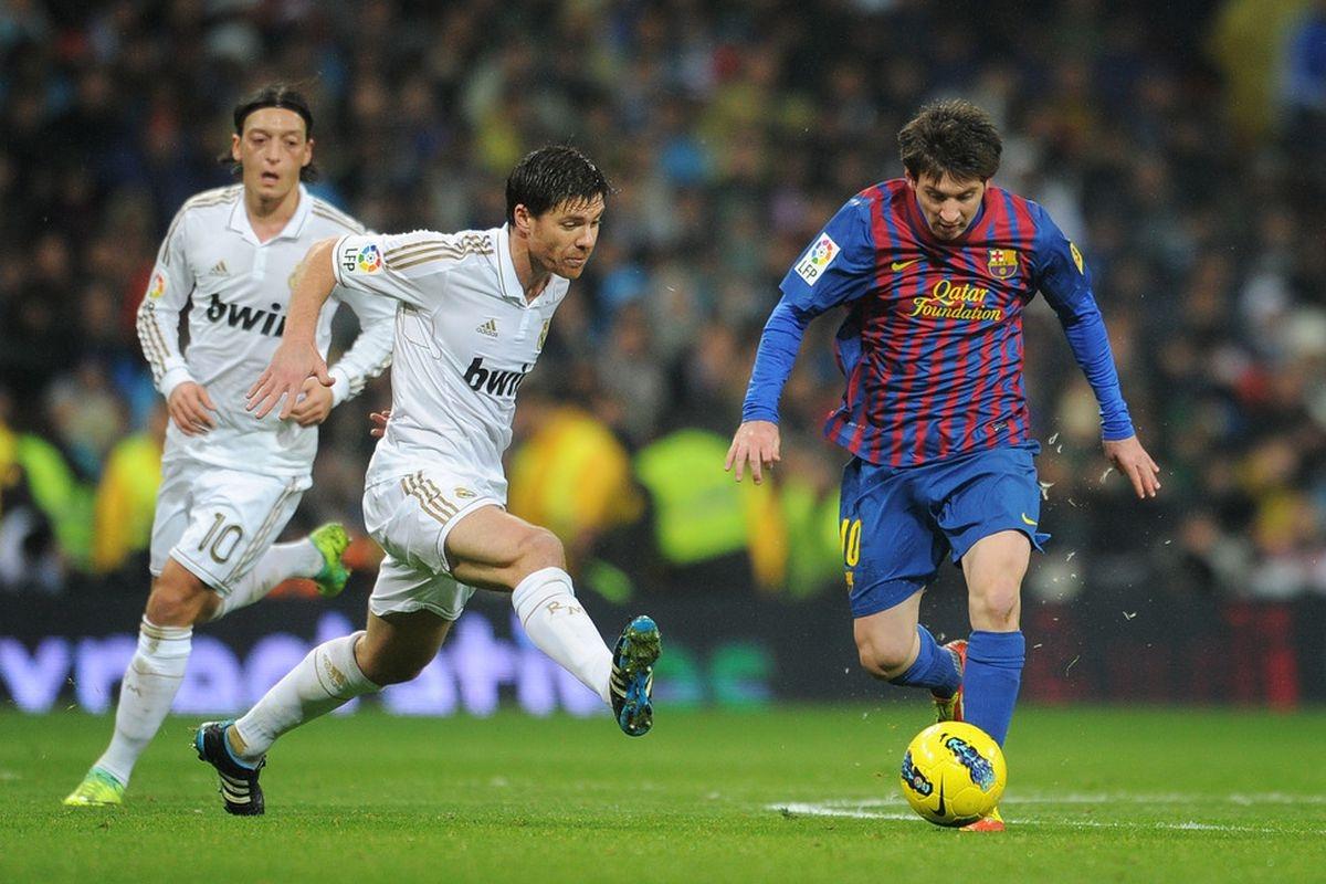 """... Nhưng Messi với pha kiến tạo """"thần thành"""" mới là người đem về chiến thắng cho Barca. (Ảnh: Getty)."""
