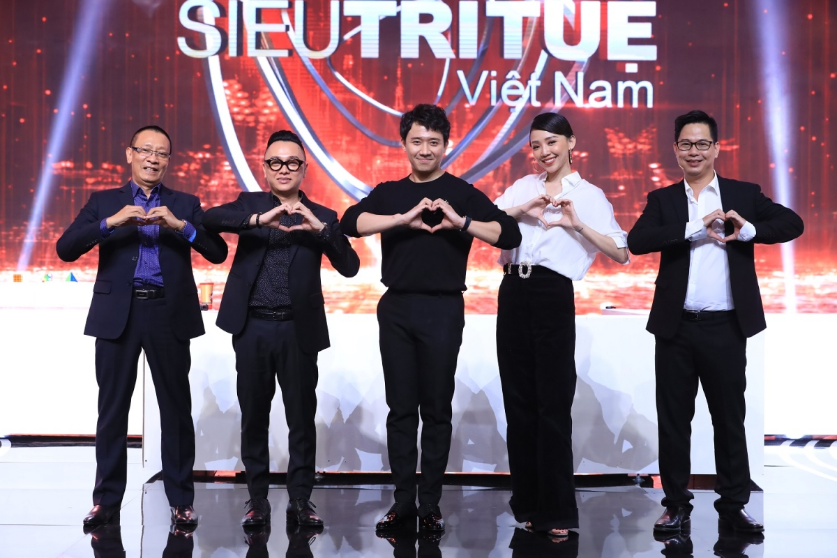 """Chương trình """"Siêu trí tuệ Việt Nam""""."""