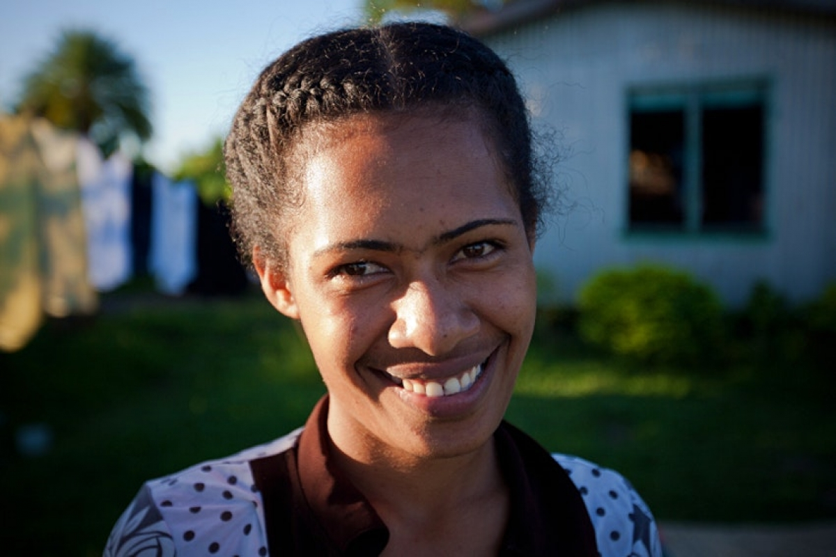 Nụ cười luôn thường trực với người dân Fiji. Nguồn: Mark Tipple