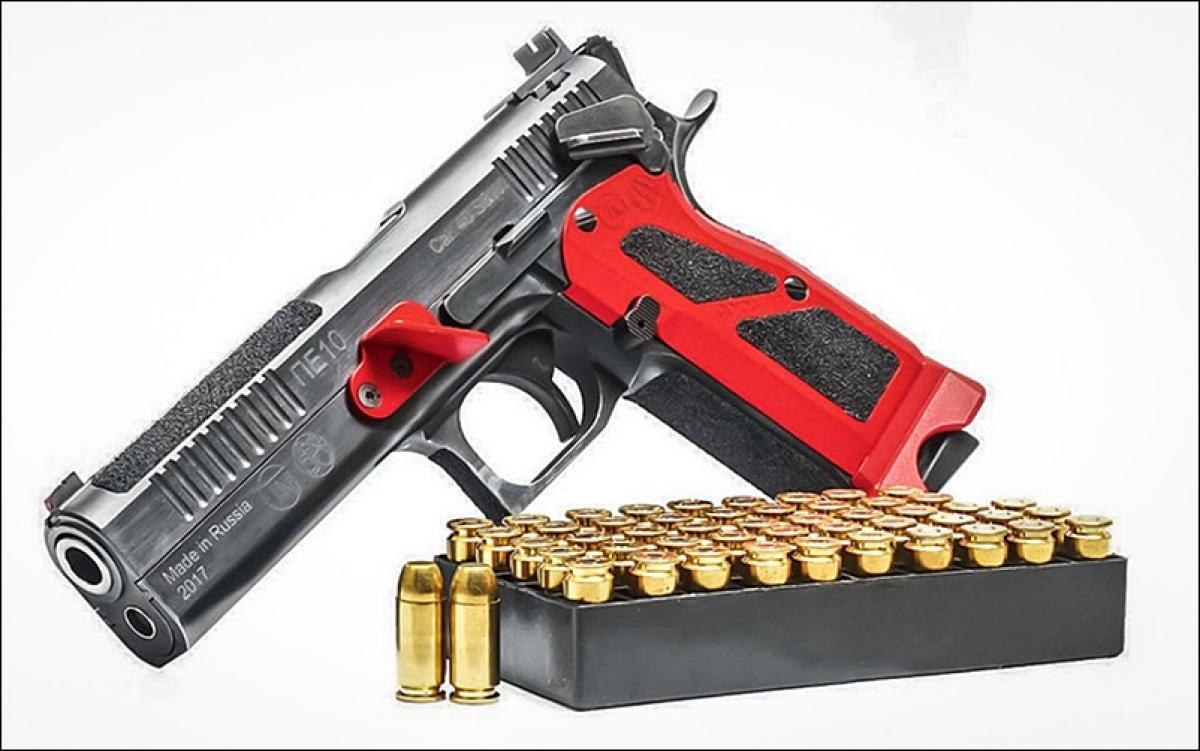 Khẩu súng ngắn Nga PE-10 (viết theo chữ Latin). Ảnh: Kalashnikov.ru.