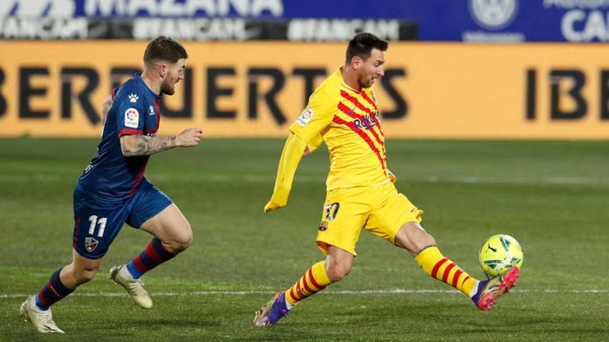 Messi thi đấu rất tốt ở trận này (Ảnh: Reuters).