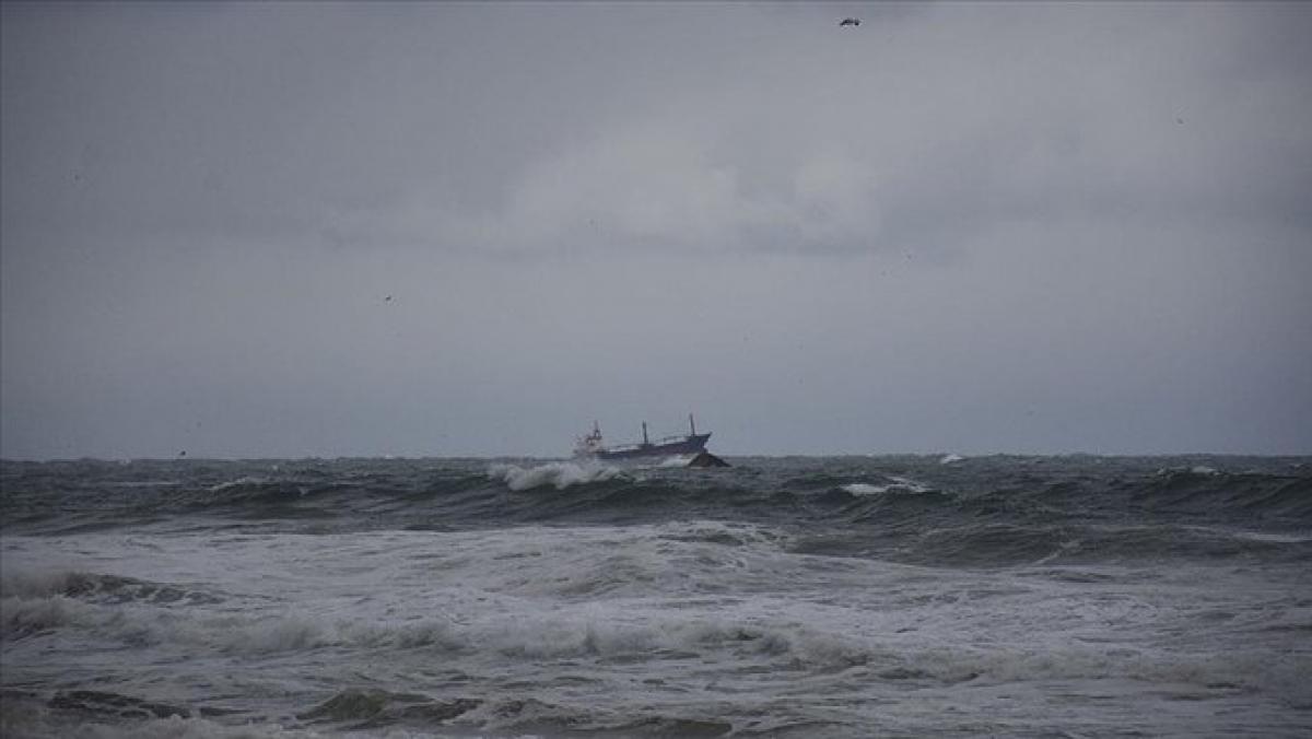 Tàu chở hàng của Nga bị chìm ở Biển Đen ngoài khơi Thổ Nhĩ Kỳ. ẢnhSputnik.