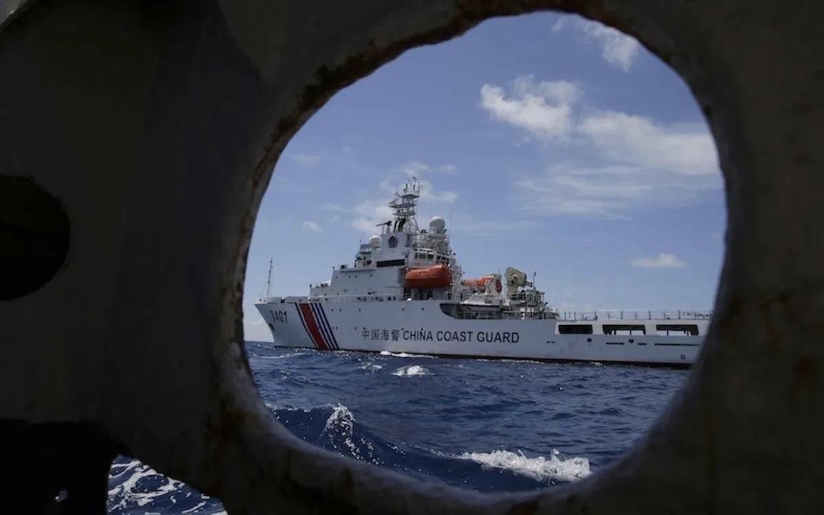 Tàu hải cảnh Trung Quốc. Ảnh: AFP.