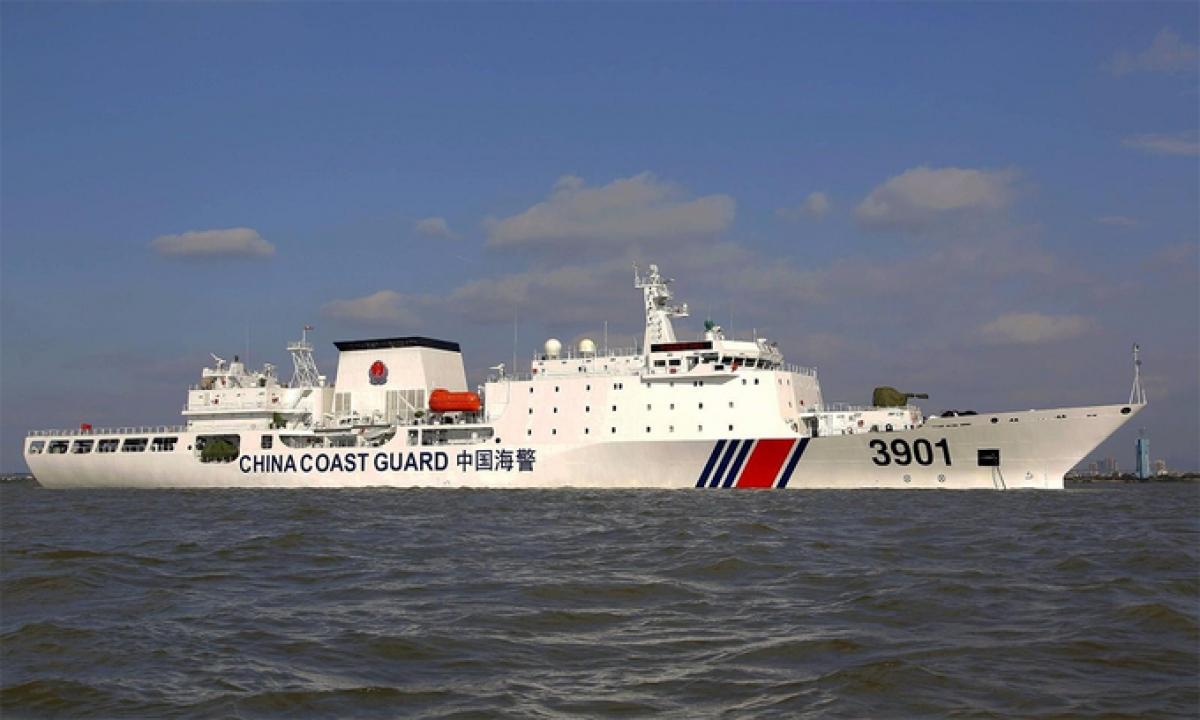 Tàu Hải cảnh 3901 của Trung Quốc. Ảnh:CGC.