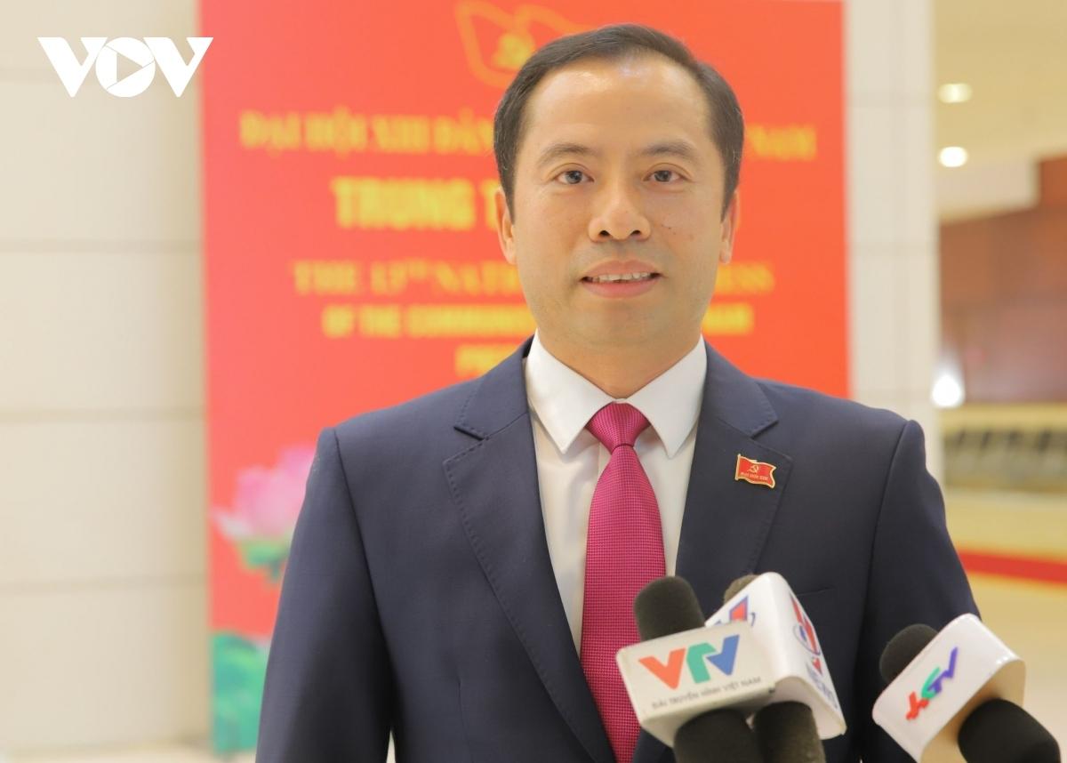 Đại biểu Lương Trọng Thành.