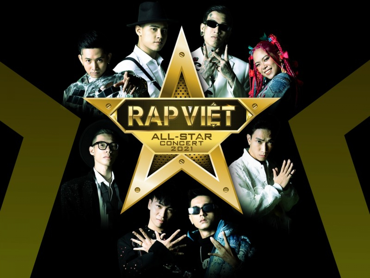 Chương trình có sự góp mặt của dàn Huấn luyện viên, thí sinh của cuộc thi Rap Việt.