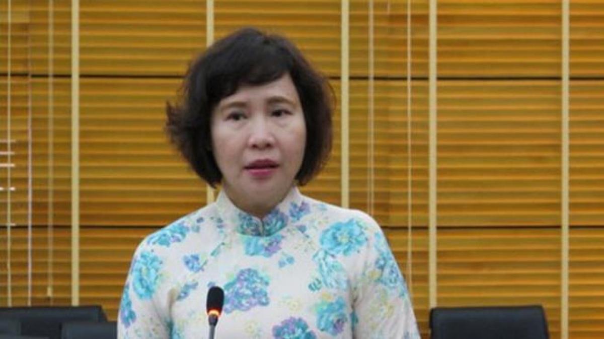 Nguyên Thứ trưởng Bộ Công Thương Hồ Thị Kim Thoa.