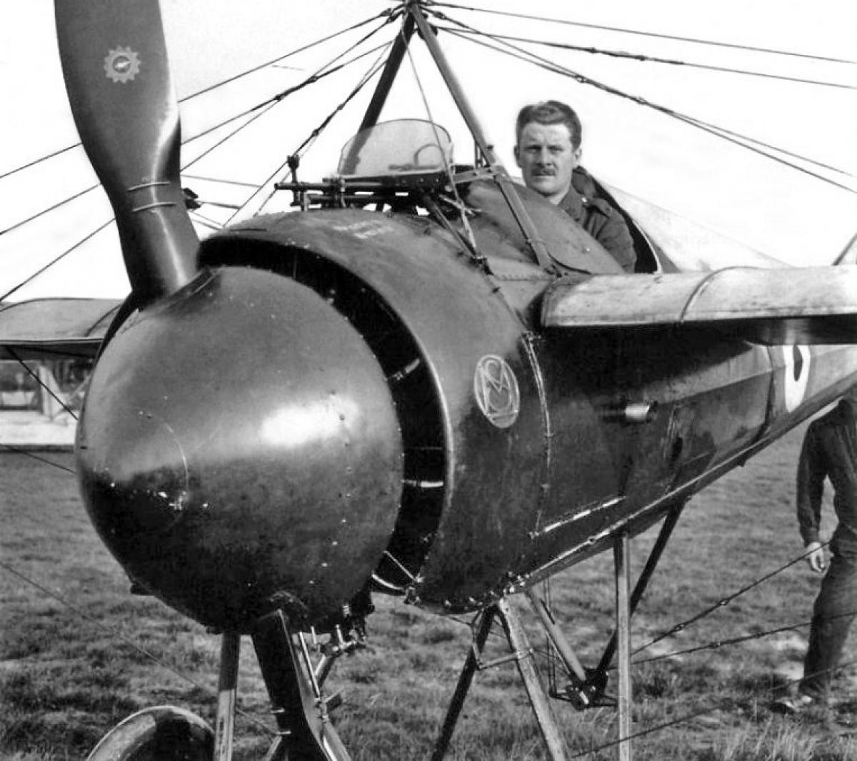 Tiêm kích cơMorane-Saulnier N. Ảnh: Plane Encyclopedia.