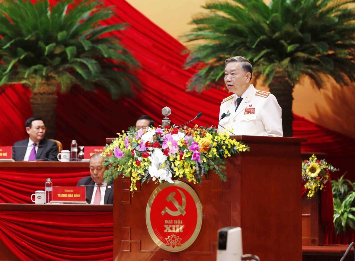 Đại tướng Tô Lâm- Bộ trưởng Bộ Công an.