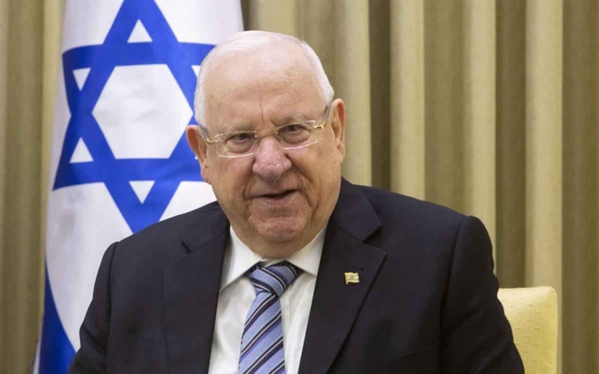 Tổng thống Israel Reuven Rivli. Ảnh: MEO.
