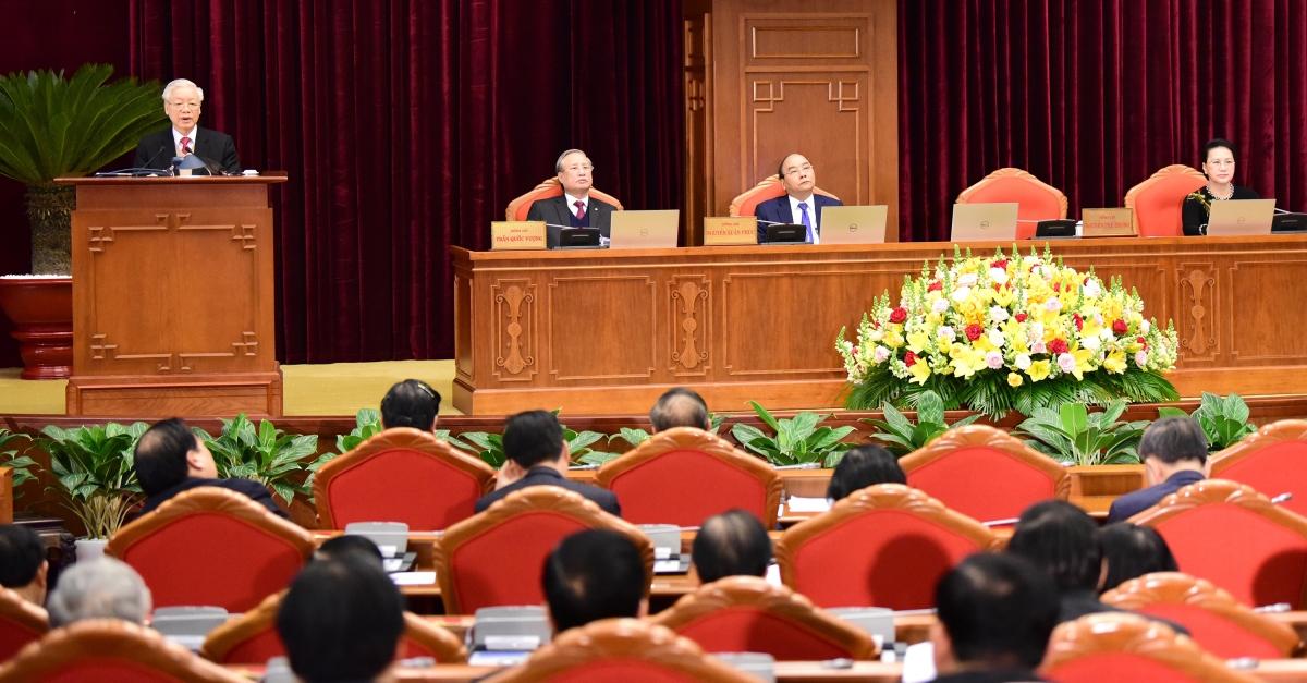 Phát biểu khai mạc, Tổng Bí thư, Chủ tịch nước Nguyễn Phú Trọng nhấn mạnh Hội nghị Trung ươnglần này có ý nghĩa đặc biệt quan trọng, bàn và quyết định những phần việc còn lại để tiếp tục chuẩn bị và tổ chức thành công Đại hội đại biểu toàn quốc lần thứ XIII của Đảng.