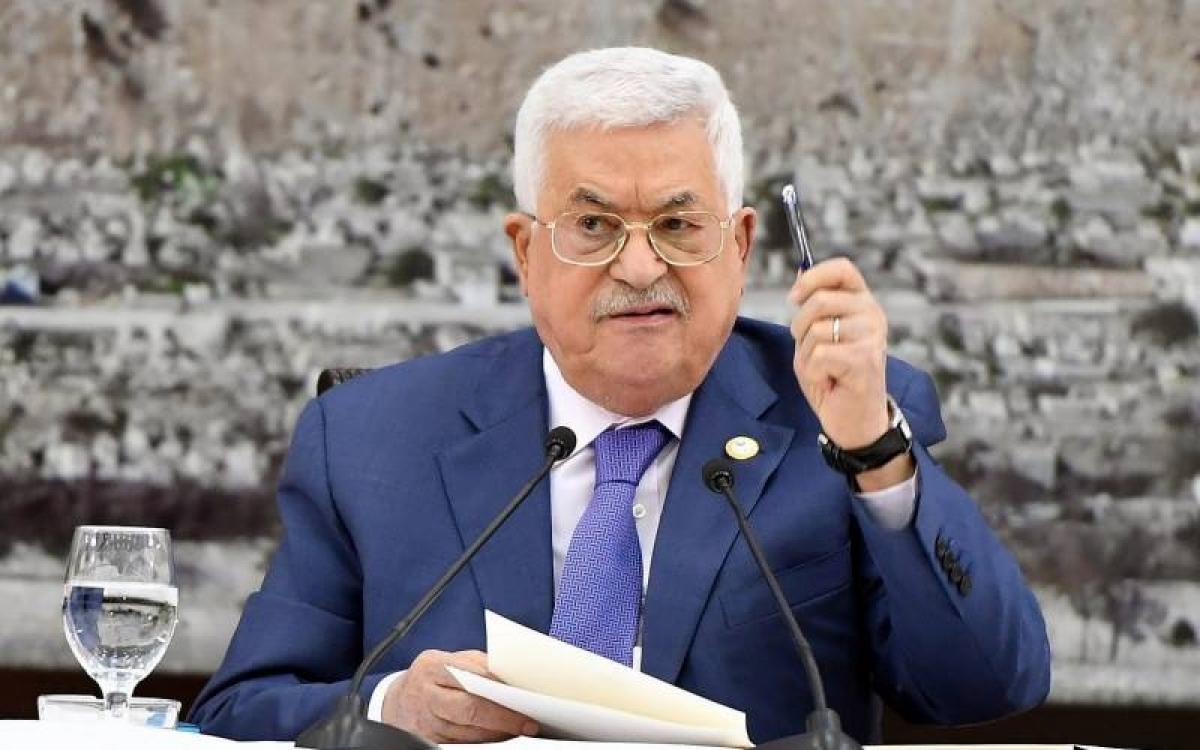 Tổng thống Palestine Mahmoud Abbas. Ảnh: Daily Pakistan