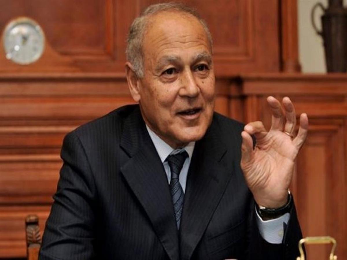 Tổng thư ký Liên đoàn Arab kêu gọi chính quyền Mỹ khởi động tiến trình hòa bình giữa Palestine và Israel nhằm giải quyết xung đột theo một giải pháp toàn diện và cuối cùng. Ảnh: Masrawy
