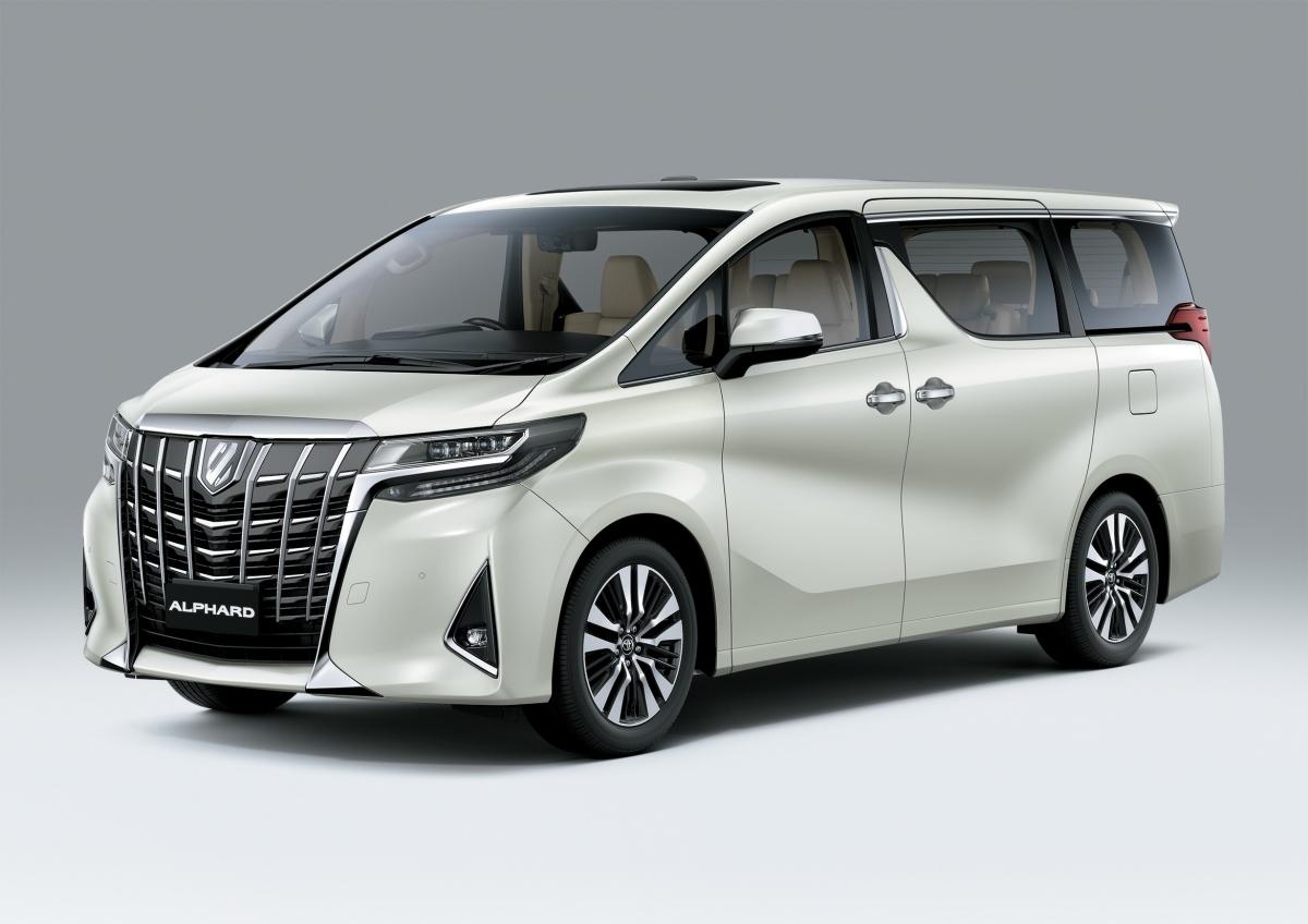 Toyota Alphard 2021.
