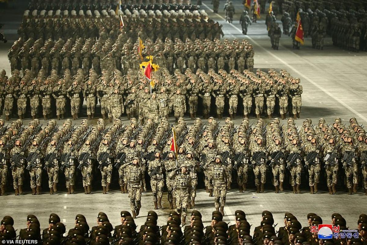 Binh sĩ Triều Tiên.