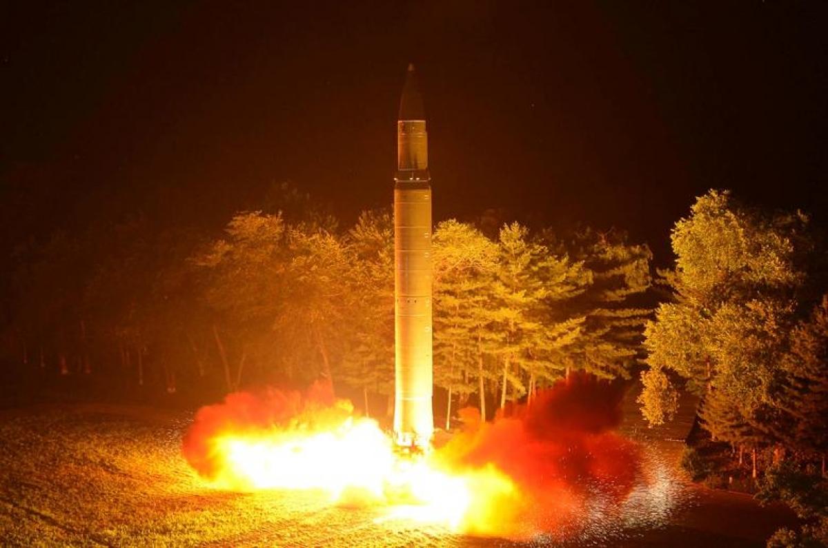 Triều Tiên có kế hoạch tăng sức mạnh vũ khí hạt nhân hủy diệt. Ảnh: Reuters