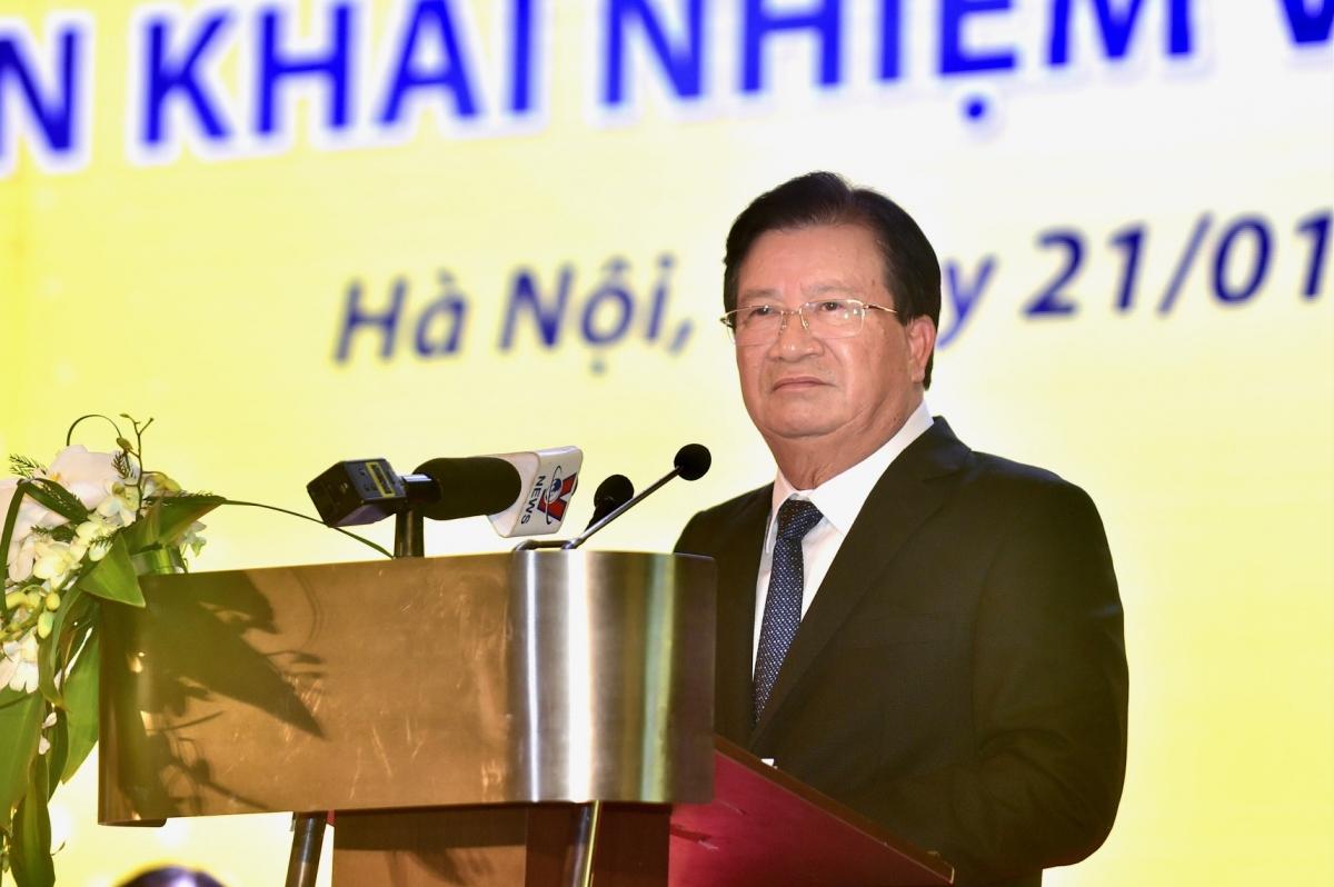 Phó Thủ tướng Trịnh Đình Dũng yêu cầu TKV phải cung ứng đủ than cho phát triển đất nước. (Ảnh: VGP)