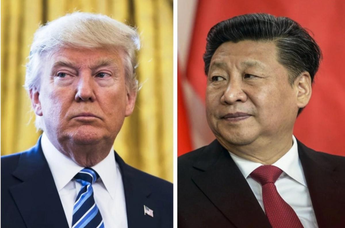Tổng thống Mỹ Donald Trump và Chủ tịch Trung Quốc Tập Cận Bình. Ảnh: EPA.