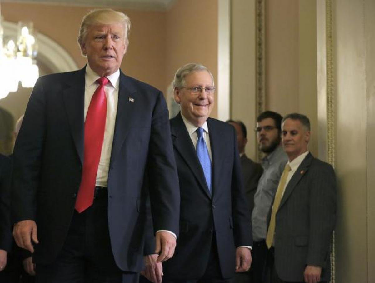 Tổng thống Trump có thể bị luận tội. Ảnh: Reuters.