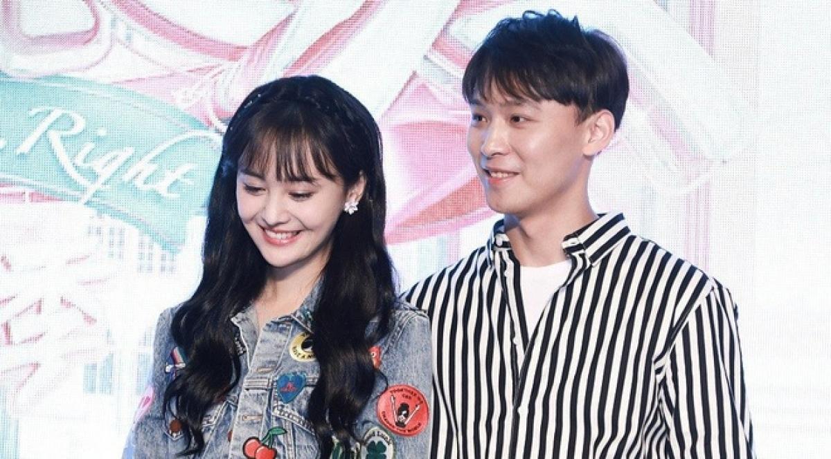 Trịnh Sảng và bạn trai cũ Trương Hằng