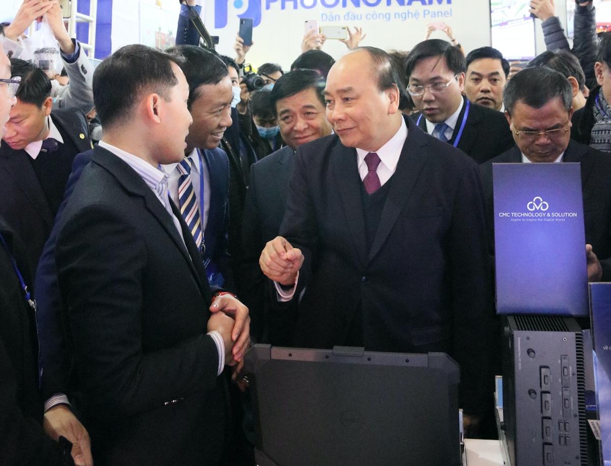 Dấu ấn CMC tại Triển lãm Quốc tế Đổi mới sáng tạo Việt Nam