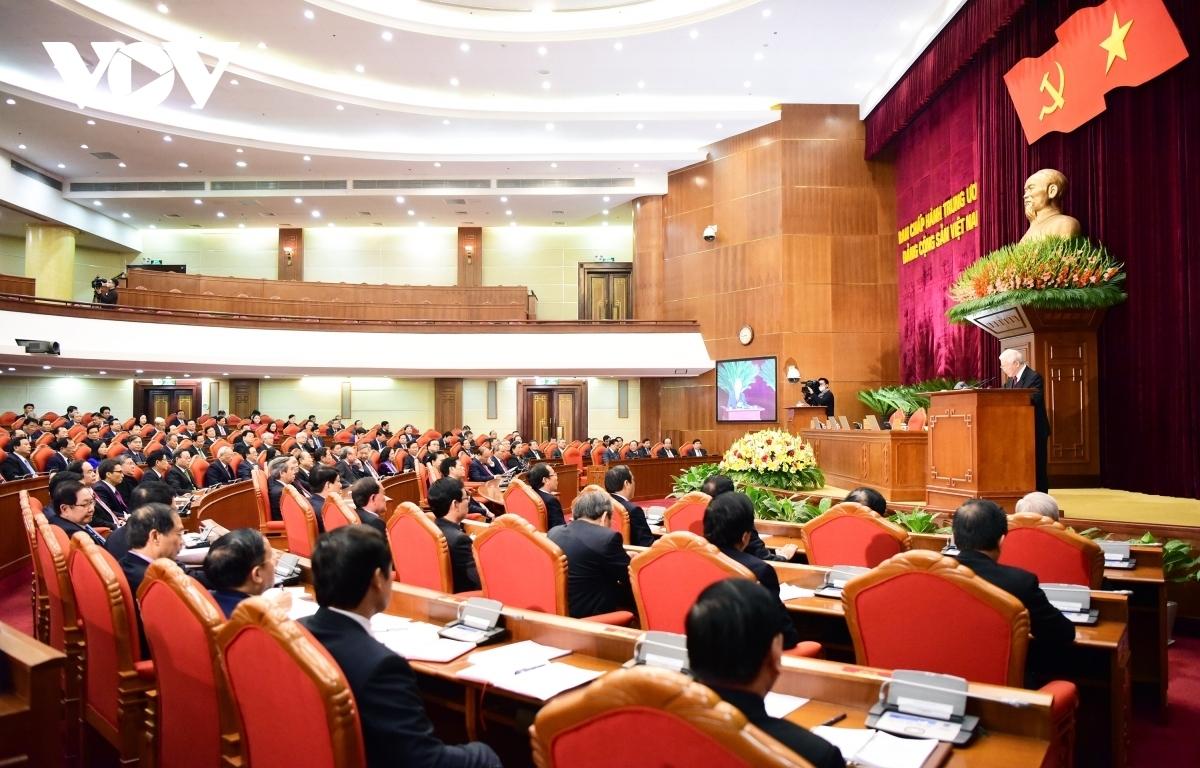 Bế mạcHội nghị lần thứ 15 Ban Chấp hành Trung ương khóa XII.