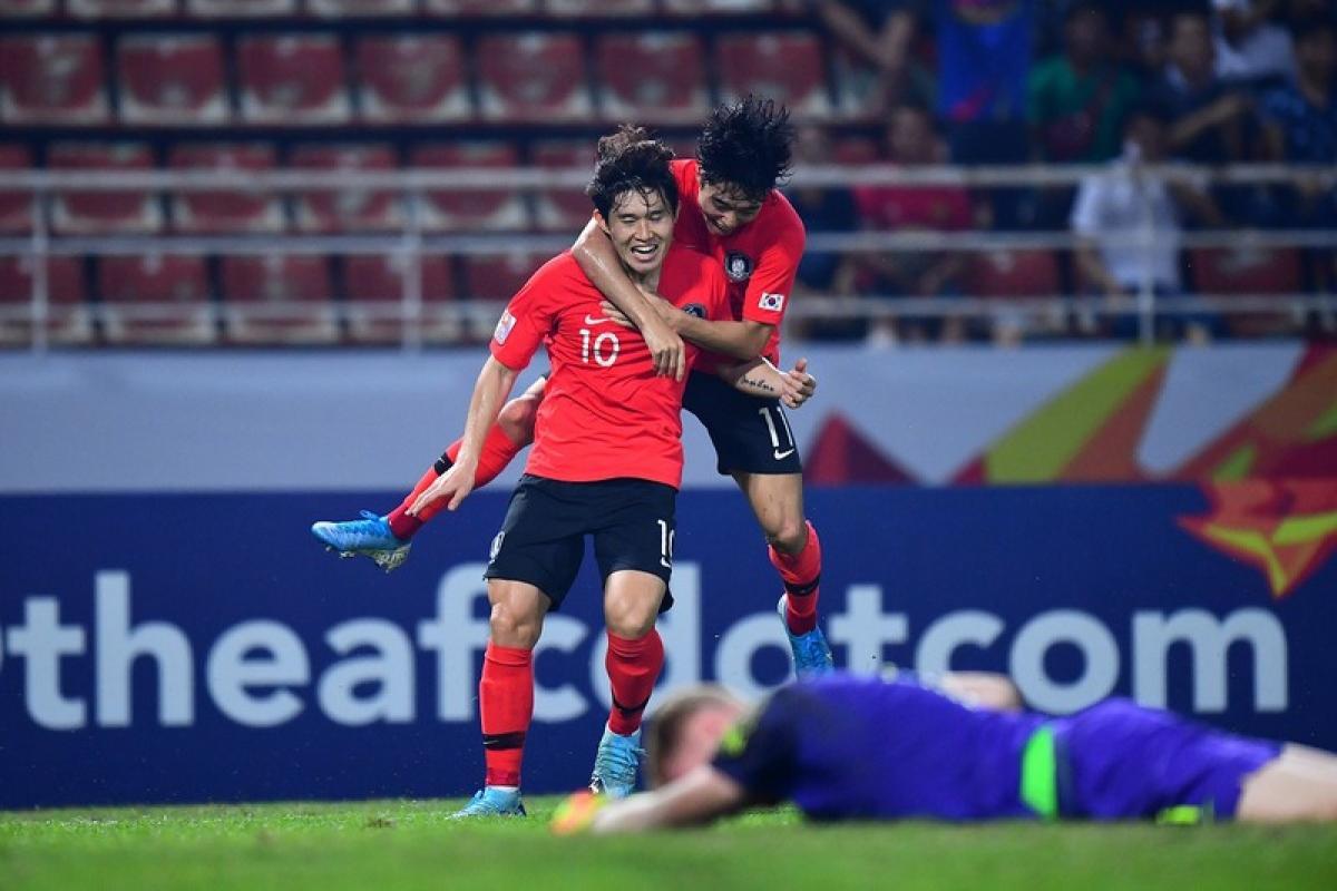 U23 Hàn Quốc là đội duy nhất trên thế giới dự đủ các kỳ Olympic từ khi đấu trường này dành cho các cầu thủ U23 +3. (Ảnh: AFC).