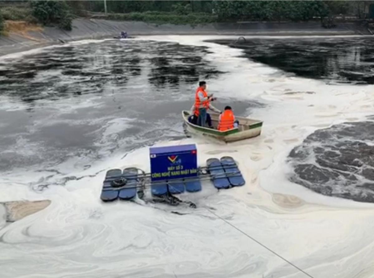 Đơn vị đánh giá mùi độc lập đo nồng độ mùi tổng hợp trên mặt hồ nước rỉ rác