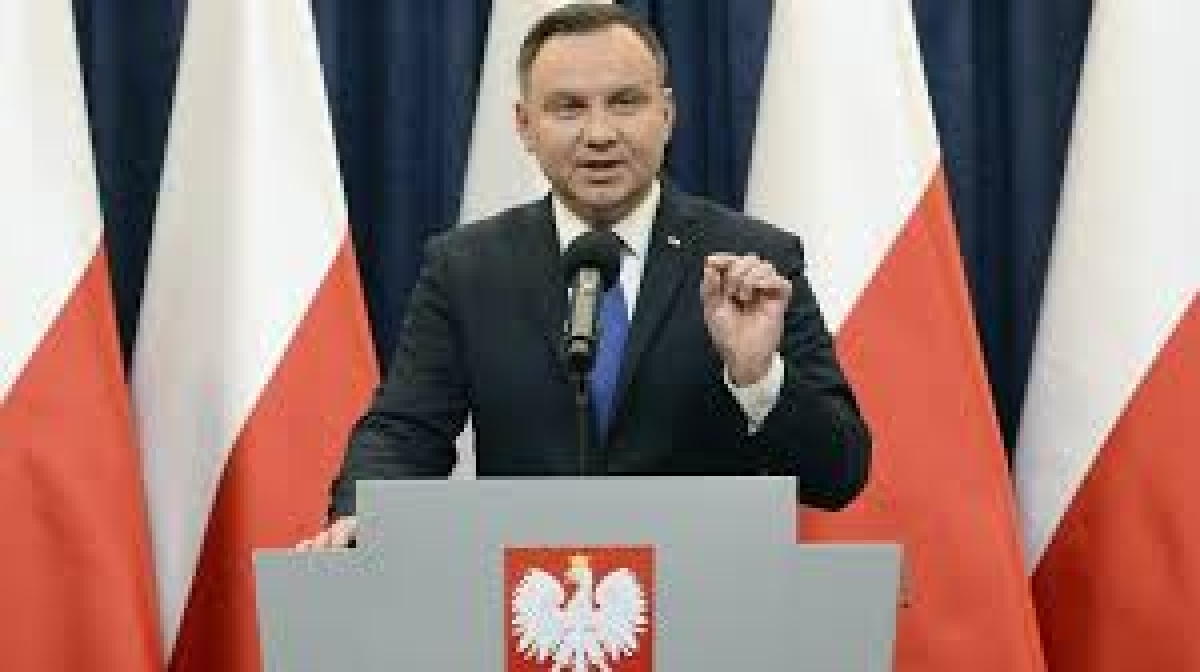 Tổng thống Ba Lan Andrzej Duda