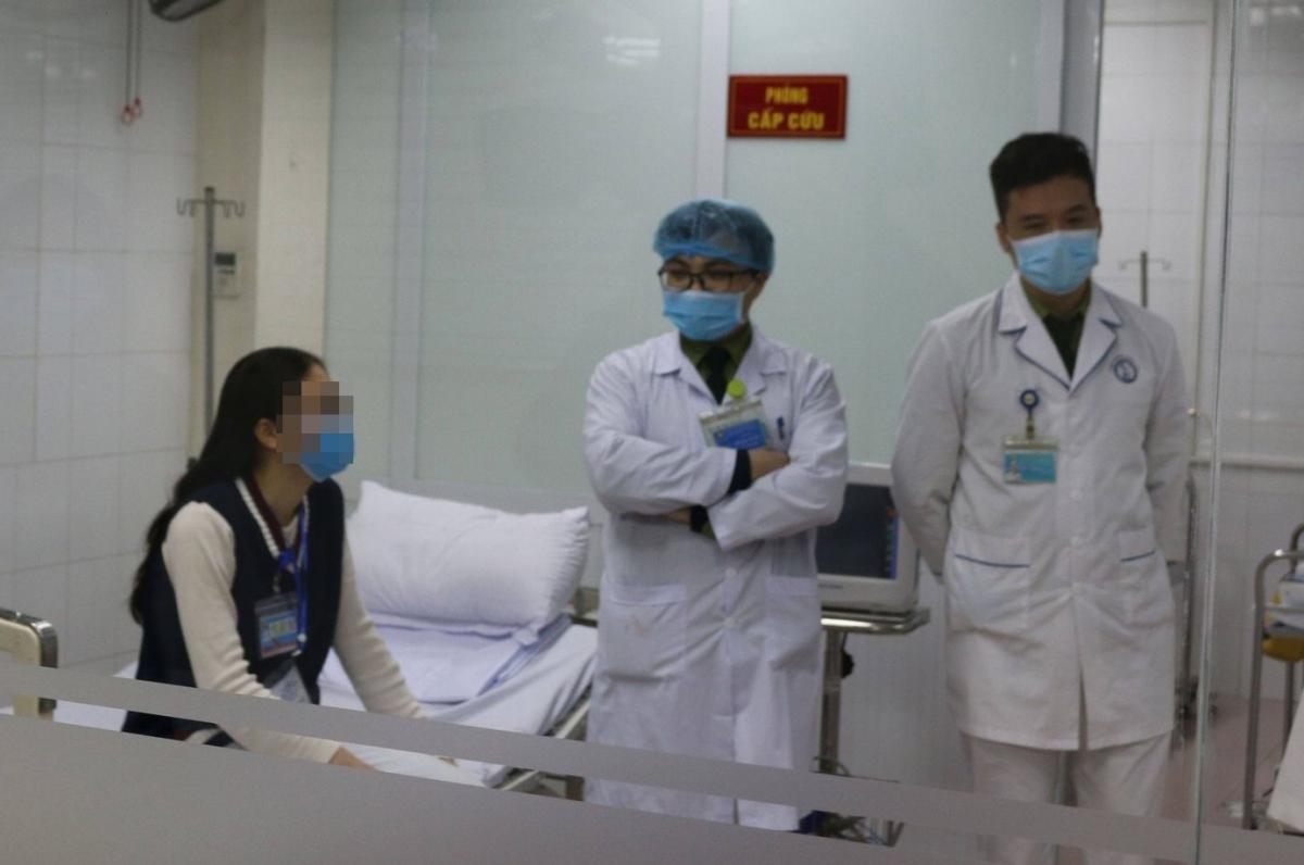 Một trong 3 tình nguyện viên đầu tiên tiêm thử nghiệm vaccine COVID-19 liều cao nhất. (Ảnh: Vũ Nga)