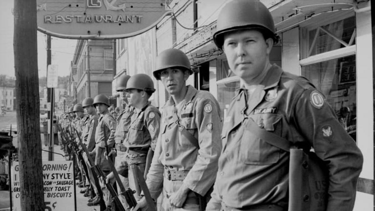 Lực lượng Vệ binh Quốc gia Mỹ có lịch sử gần 400 năm. Ảnh: Getty
