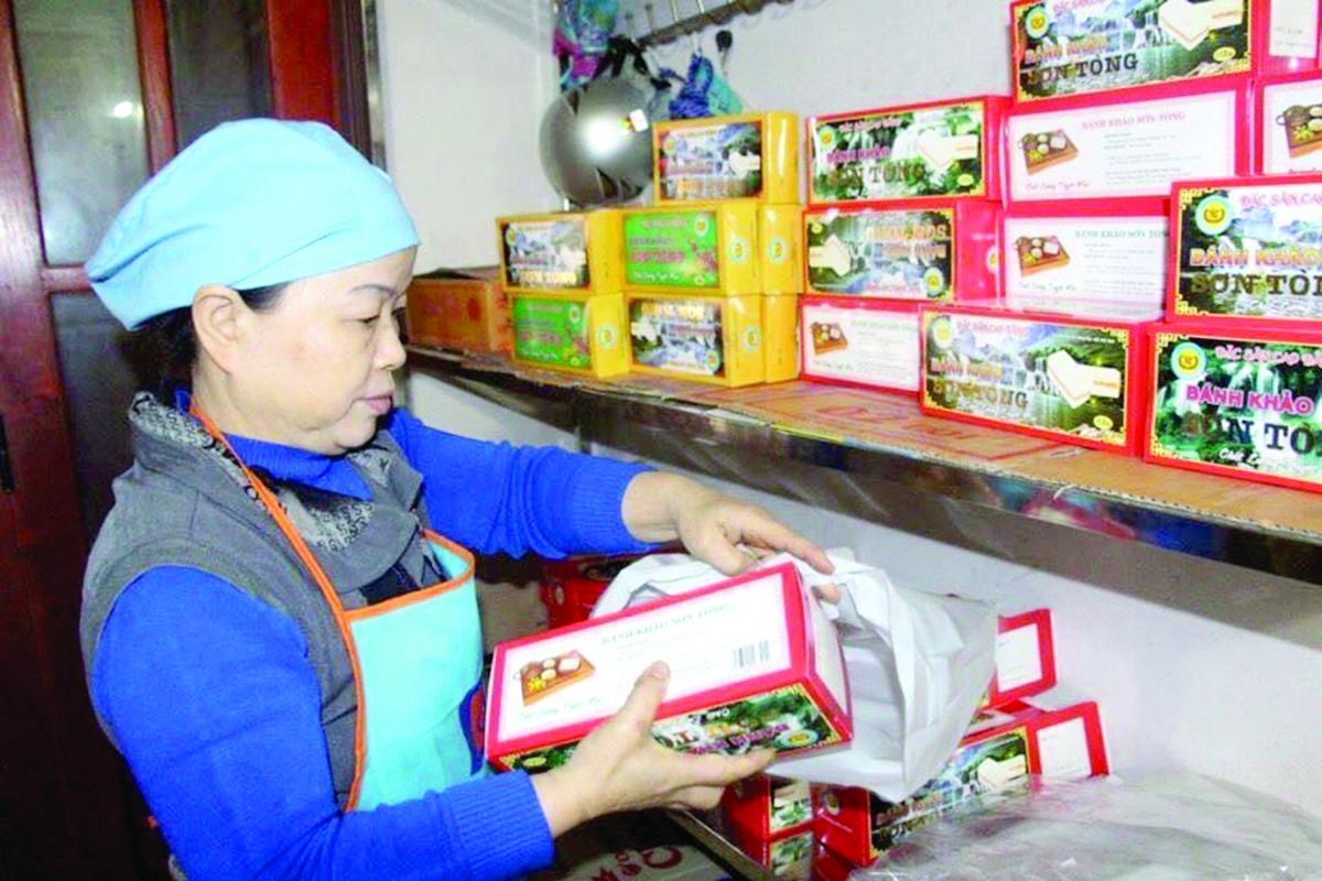 Với người Tày, Nùng ở Cao Bằng, sẽ chẳng còn Tết nếu không có bánh khảo.