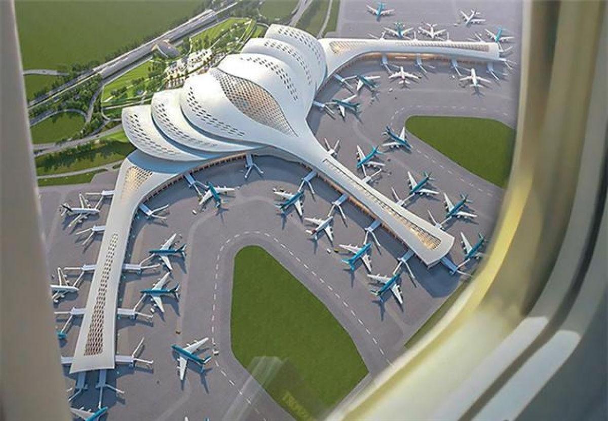 Phối cảnh Dự án sân bay Long Thành.