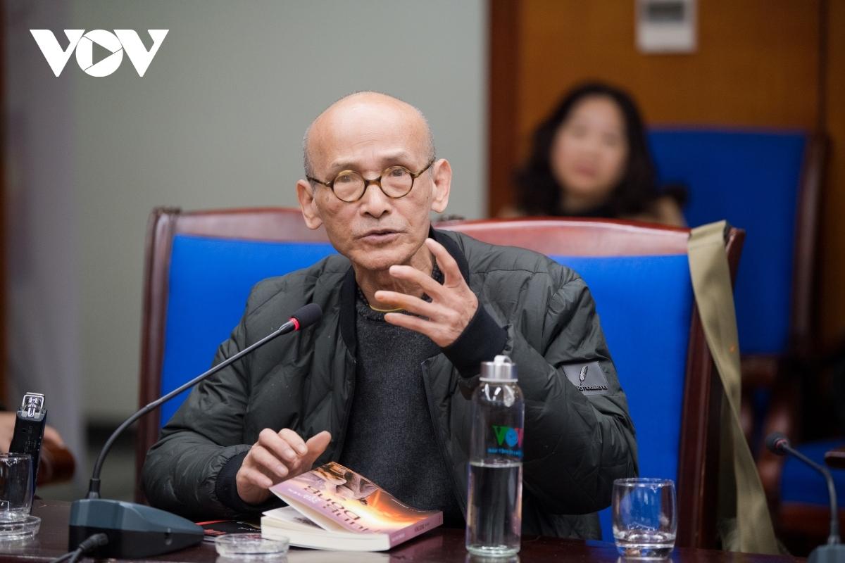 Nhà văn Nguyễn Văn Thọ.