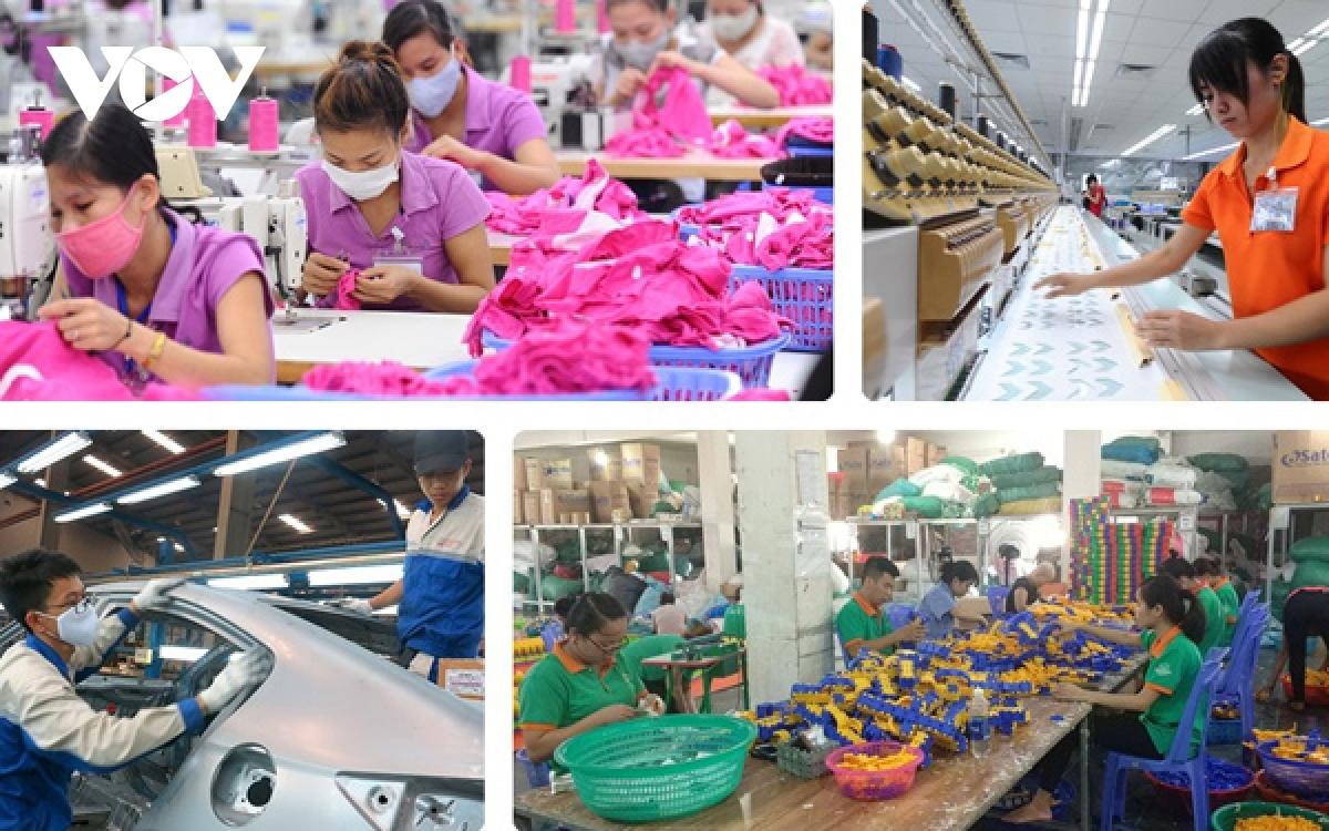 Các tổ chức quốc tế dự báo lạc quan về tình hình tăng trưởng kinh tế của Việt Nam trong năm 2021 (Ảnh minh họa)