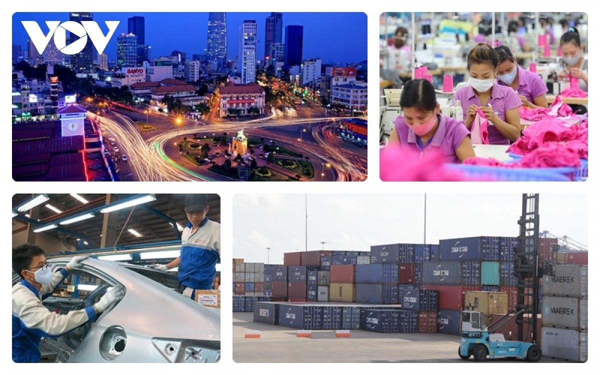 Nền kinh tế Việt Nam hiện là 1 trong những điểm sáng nhất tại châu Á, bất chấp tác động ngày một sâu rộng của đại dịch Covid-19.