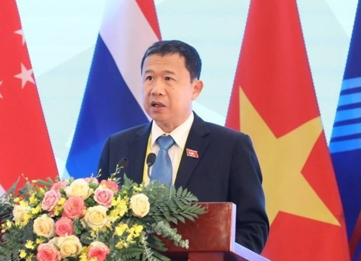 Vice Chairman of the National Assembly's Committee for External Relations Vu Hai Ha is among three Vietnamese representatives at the APF executive board's annual meeting (Photo: VNA)