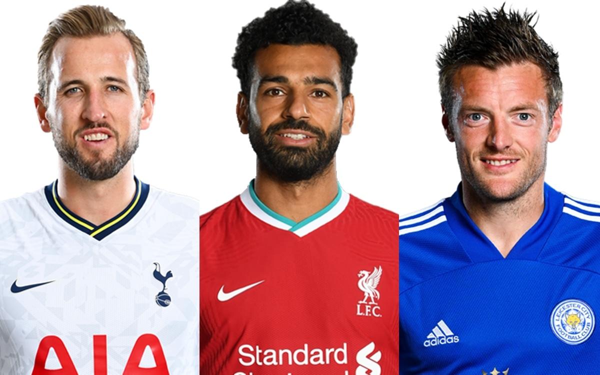 Top 10 cầu thủ ghi nhiều bàn nhất Ngoại hạng Anh mùa giải 2020/2021 tính đến thời điểm này gồm có:
