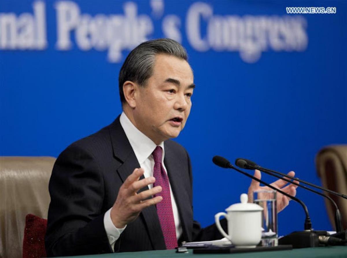 Ngoại trưởng Trung Quốc Vương Nghị. Ảnh: news.cn