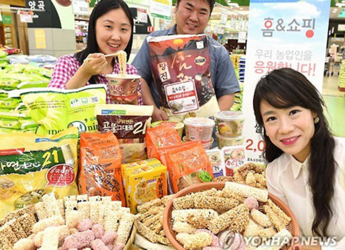 Xuất khẩu sản phẩm chế biến từ gạo của Hàn Quốc năm 2020 tăng kỷ lục. (Ảnh: yonhap)
