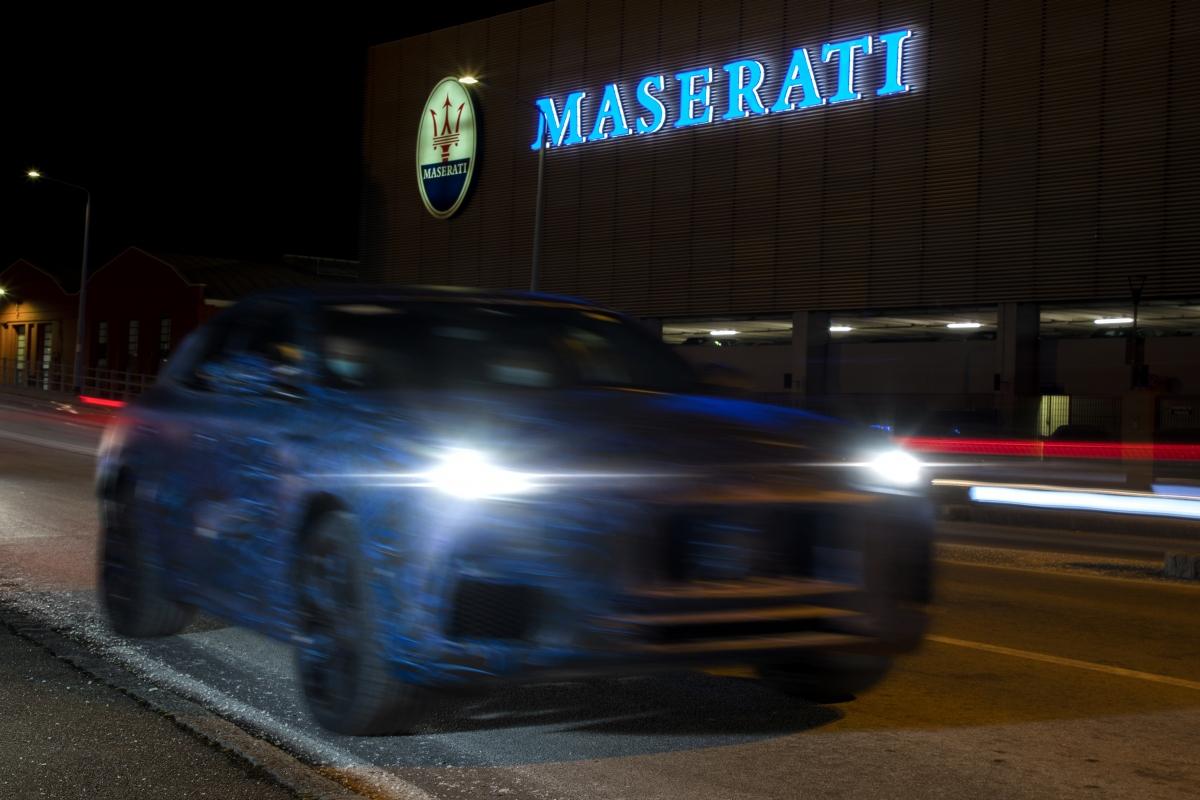 Hình ảnh MaseratiGrecale được chụp lại khi thử nghiệm.