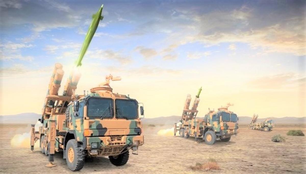 """TRG-230 Tiger của Thổ Nhĩ Kỳ được nghi là tác giả của màn """"lột"""" tháp pháo xe tăng quân đội Syria; Nguồn: roketsan.com.tr"""